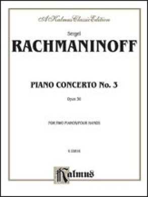 Alfred 00-K03816 Piano Concerto No. 3 in D Minor- Op. 30 - Music Book