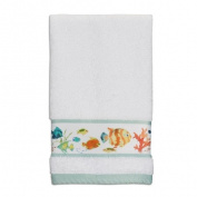 Creative Bath TP1073WMULT Rainbow Fish Wash Cloth