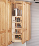 Rev-A-Shelf RS448.WC.5C 5 in. Wall Pullout Shelving System Wood