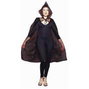 RG Costumes 75023-BK 45-Inch Sheer Cape - Black