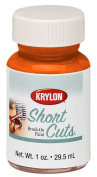 Krylon Division SCB-022 30ml Glow Orange Short Cuts Brush On Paint - Pack of 6