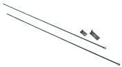 UniFlame C-6800 Fireplace Curtain Rod Kit 32in. To 58in. Long