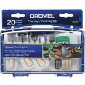 For For For For For For For For For Dremel Cleaning/Polishing Mini Accessory Kit, 684-02