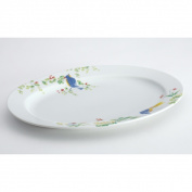 Paula Deen 58572 Spring Medley, 25cm by 36cm Oval Platter