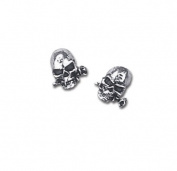 Alchemy Gothic E147 Alchemist Stud Earrings - Pair
