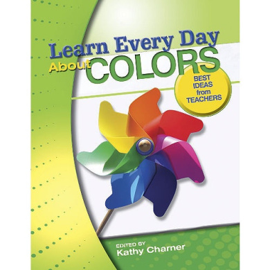 Gryphon House 13467 Learn Every Day about Colors Book - Paperback