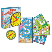 What Time is It? Board Game, Grades K to 2