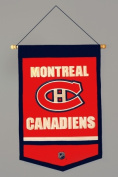 Montreal Canadiens Official NHL 30cm x 46cm Wool Traditions Banner Flag by Winning Streak