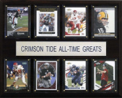 C & I Collectables 1215ATGTIDE NCAA Football Alabama Crimson Tide All-Time Greats Plaque