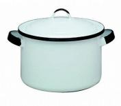 Columbian Prod 6169-4 WHT 5.4l Stock Pot Enamel - Pack of 4