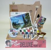 Martin - F. Weber R6512 Bob Ross Deluxe Wood Box Set With 1 Hour Dvd