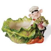 Kaldun and Bogle 115853 Chef Pig Candy Bowl