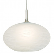 Nora Lighting NRS80-473 COCOON GLASS SHADE