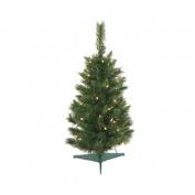Vickerman 0.8m Green 96 Tips Christmas Tree 50 Clear Dura-Lit