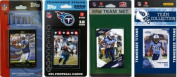 C & I Collectables TITANS4TS NFL Tennessee Titans 4 Different Licenced Trading Card Team Sets