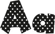 Frog Street Press FST5140 Black- 10cm Polka Dot Letters