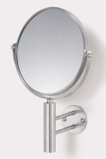 Zack 40115 FELICE wall mirror total h.29cm Stainless Steel