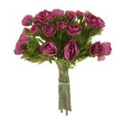 Distinctive Designs DP-860-PP DIY Bouquet Purple Ranunculus Bouquet x 18 - Pack of 6