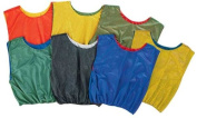Olympia Sports PC148P Reversible Scrimmage Vest - red-green
