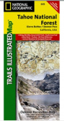 National Geographic TI00000805 Map Of Tahoe National Forest-Sierra Buttes-Donner - California