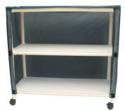 MJM International E345-2C Echo Linen Cart