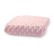 Rumble Tuff CV-CT-200-PK Standard Minky Dot Changing Pad Cover - Pink