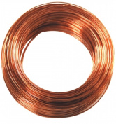 Hillman Group Inc - Ook 50164 30.48m 24 Gauge Copper Annealed Hobby Wire - Pack of 8