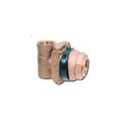 Bur-Cam Pumps 150155 2.5cm Pitless adaptors - Bronze
