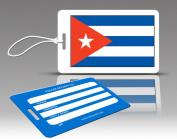Insight Design 770539 TagCrazy Luggage Tags- Cuba Flag- Set of Three