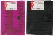 Esselte Pendaflex 7 Pocket Assorted Colours Letter Poly Expanding File 99691
