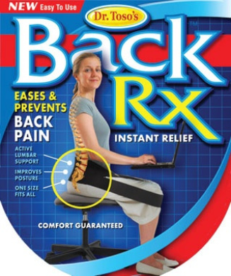 nadachair rx Active Back Support for Airlines or Long Car Trips