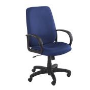 Safco 6300BU - Poise High Back Chair - Blue