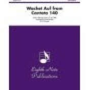 Alfred 81-TE9940 Wachet Auf- from Cantata 140 - Music Book