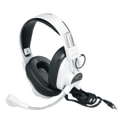 Califone International 3066AV Deluxe Multimedia Stereo Headphones With Boom Microphone