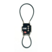 Lewis N Clark 744383 Double Cable Lock