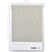 Chipboard Alphabet #2 21cm x 15cm Sheets 3/Pkg-.2220cm Uppercase, Lowercase & Numbers