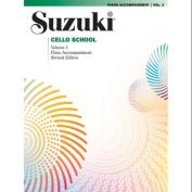 Alfred 00-0484S Suzuki Cello School Piano Acc.- Volume 3 - Music Book