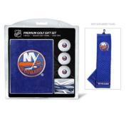 Team Golf 14720 New York Islanders Embroidered Towel Golf Ball 12 Golf Tee Gift Set