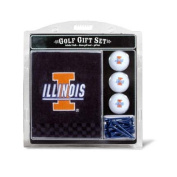 Team Golf 21320 Illinois Fighting Illini Embroidered Towel Gift Set