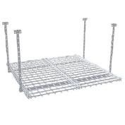 HyLoft 00720 36- by 90cm Overhead Storage System, White
