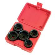 Lisle LS13300 5 Pieces filter Socket Set
