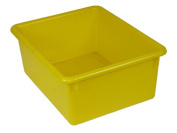Romanoff Products ROM16103 5In Stowaway Letter Box Yellow No Lid 13 X 10-.50 X 5