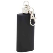 Maxam 60ml Stainless Steel Keychain Flask- Chain Flask