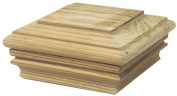 Waddell Manufacturing 226 10cm x 10cm Pine Flat Post Cap