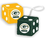 Casey 2324598016 Green Bay Packers Fuzzy Dice