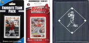 C & I Collectables 2012DBACKSTSC MLB Arizona Diamondbacks Licenced 2012 Topps Team Set and Favourite Player Trading Cards Plus Storage Album