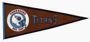Tennessee Titans Official NFL 80cm x 33cm Wool Pigskin Pennant by Winning Streak