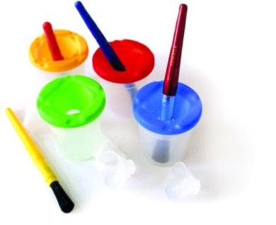 Armada Art ARM-096 3-1/2 Paint Pots