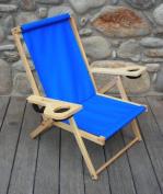 Blue Ridge Chair Works NFCH06WA Outer Banks Chair - Atlantic Blue