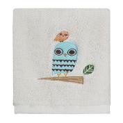 Creative Bath TP1070WMULT Give A Hoot Owl Printed Wash Cloth